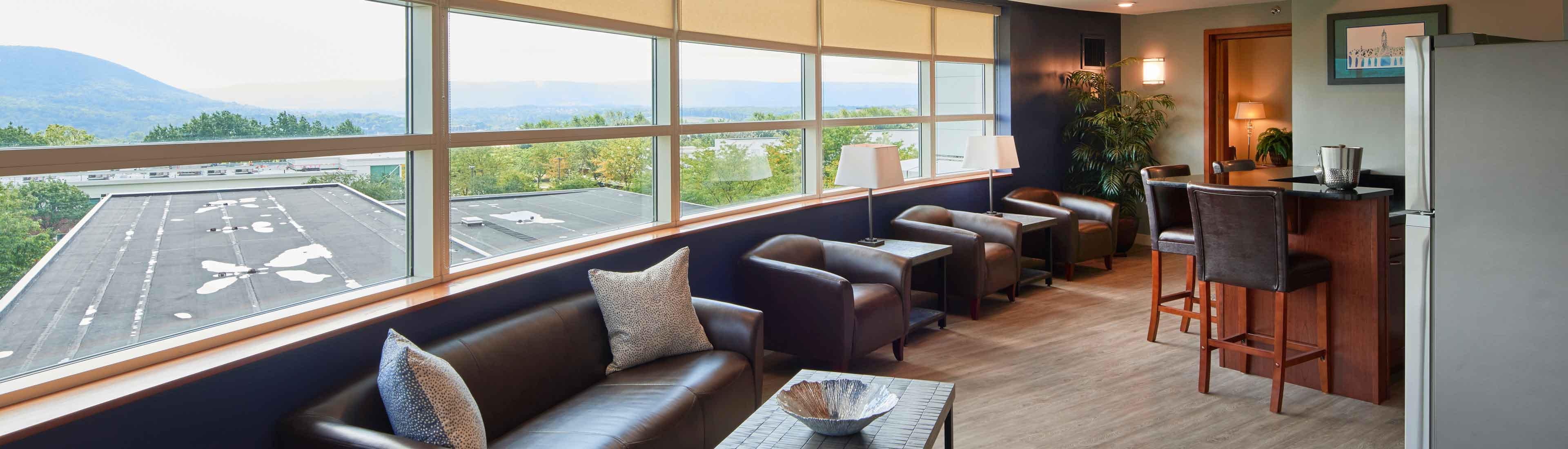 Mt Nittany Suite Sitting Area The Penn Stater