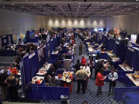 Trade show in Presidents Hall
