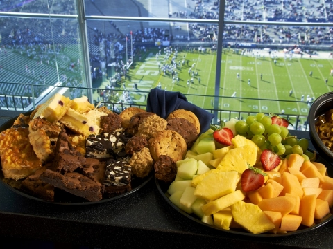 Catering at Football Games