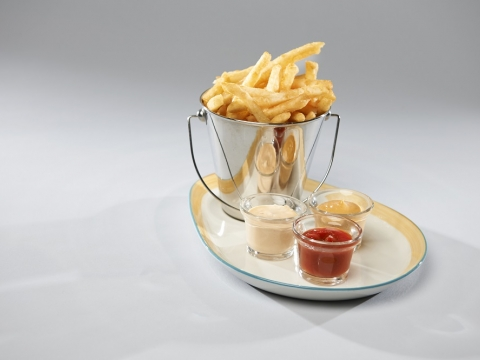 Fries Dish at The Gardens Restaurant