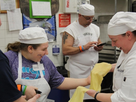 THON Family event at The Penn Stater Rolling Dough