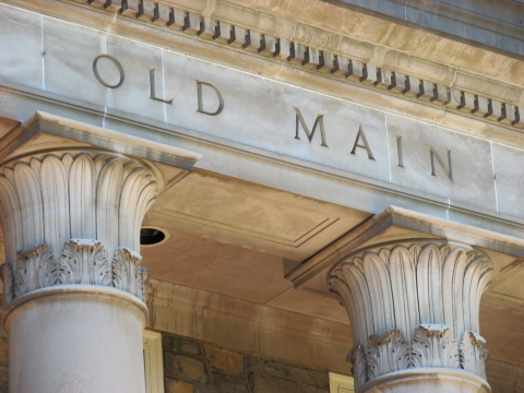 Old Main Facade