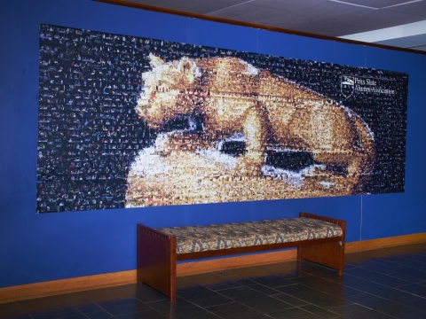 The Nittany Lion Photo Art Piece