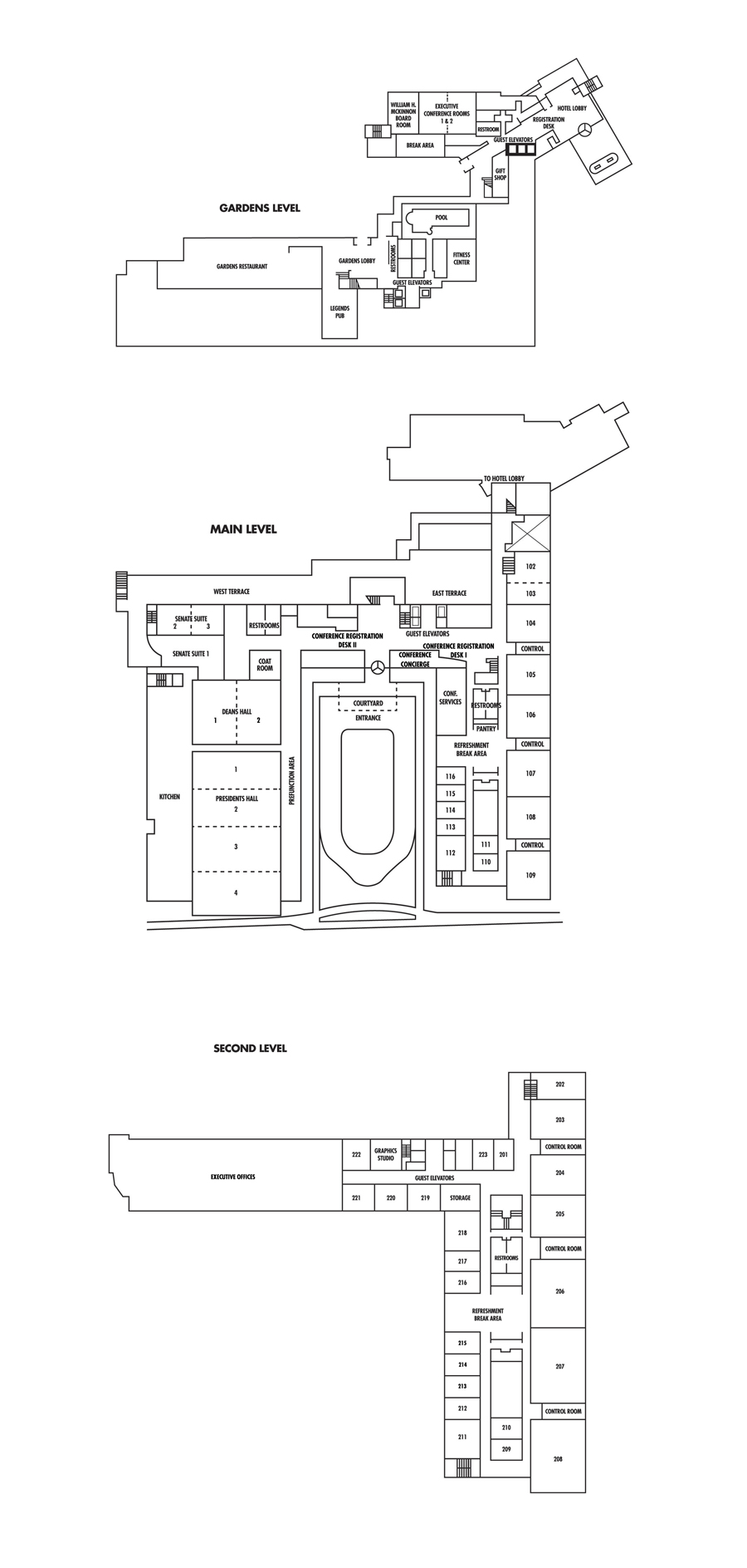 Floor Plans & Meeting Facilities at the Penn Stater Conference ...